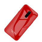 For Oneplus 7 Pro 6T Gradient Tempered Glass Shockproof Hybrid Back Case Cover