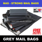 Grey Mailing Bags Self Seal Strong Poly Postal Mailers 5x7 6x9 10x14