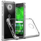 Clear Rubber Gel Soft TPU Back For Motorola Moto G7 G4 G5 G6 E4 E5 Z3 Case Cover