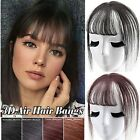 Hair Styling Tool 3D Air Bangs Hairpiece Cover Up Baldness Thin Hair Topper