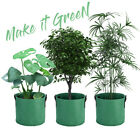 Fabric Grow Bag Planter Pot Root Pouch 1,3,5,7,10 Gallon Container with