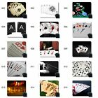 Customized Rubber Mousepad,Retro poker card abstract s Rubber Mousepad Stitched $5.29 USD on eBay