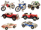 Classic Cars Vehicles Puzzle Kit Jigsaw 3d Construction Diy Wooden Model Gift