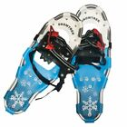 SNOWTREK Aluminum Snowshoes with Carrying Bag, Adjustable Harness Snow Shoes