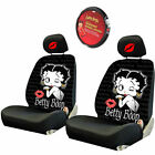 For Ford Betty Boop Car Truck SUV Seat Headrest Steering Wheel Covers New $56.04 USD on eBay