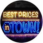 Best Price in Town Display Dual Color LED Neon Sign st6-i3594