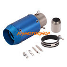 Universal 51mm / 2'' Motorcycle Exhaust Muffler Pipe 174mm Short Silencer Tube