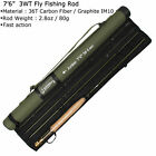 3 4 5 8WT Fly Rod Combo 36T Carbon Fiber Fly Fishing Rod with Reel Kit US STOCK