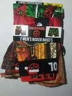 MENS S, M, L, XL DEADPOOL MARVEL CHRISTMAS 2 PACK BOXER BRIEFS NEW WITH TAG