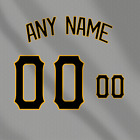 Pittsburgh Pirates Away Gray MLB jersey Any Name Any Number Pro Lettering Kit on Ebay