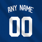 Los Angeles Dodgers Home Blue MLB jersey Any Name Any Number Pro Lettering Kit
