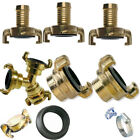 Brass Geka Genuine Quick Connect Water Fittings Claw Couplings Tap Connectors