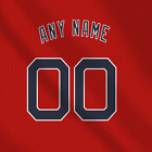 Cleveland indians Home Red MLB jersey Any Name Any Number Pro Lettering Kit