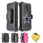 For LG Escape Plus/ Aristo 4+/K30(2019)/Tribute Royal Holster Armor Case Cover