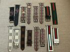 Gucci Colors Print Leather Luxury Apple Watch Band 38/40/42/44mm 1/2/3/4 image
