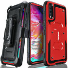 For Samsung Galaxy A70 Armor Holster Case Belt Clip Cover COVRWARE Aegis
