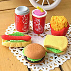 3pcs New novel Food Sandwich Hamburger Shaped Rubber Eraser Kids Stationery Gift $1.0  on eBay