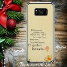 Winnie the Pooh Quotes PHONE CASE COVER for Samsung models