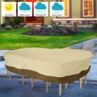 Outdoor Patio Furniture Garden Rain  Cover Cover Waterproof For Table Chair