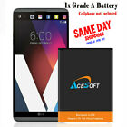 AceSoft 5320mAh Battery or USB/AC Charger for LG V20 VS995 H910 LS997 H918 Phone