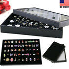 Kyпить Ring Jewelry Box Display Organizer Case Tray Holder Earring Velvet Storage Box на еВаy.соm