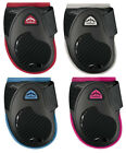 Veredus COLOURED YOUNG JUMP FETLOCK Boots FEI & BS Black/Pink/Blue/Pink/Red M/L