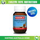 FUSION HEALTH Stress & Anxiety - 30 / 60 / 120 Tablets + FREE SHIPPING $27.95 AUD on eBay