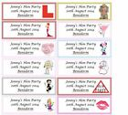 20 PERSONALISED HEN PARTY FAVOUR TAGS £2.75 GBP on eBay
