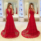 Womens Evening Formal Party Ladies Bridesmaid Cocktail Prom Ball Gown Maxi Dress