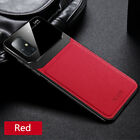 For Samsung Galaxy A51 A71 Luxury Leather Case Plexiglass Camera Protect Cover
