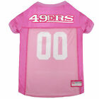 Pets First San Francisco 49ers NFL Pink Mesh Jersey $12.0 USD on eBay