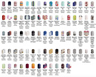 Jamberry Nail Wraps - HALF SHEETS - clear, matte, glossy, sparkle, metallic