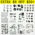 Silicone Clear Rubber Stamps Seal Embossing Folders Scrapbooking DIY Card Decor