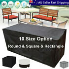 10 Size Waterproof Outdoor Patio Garden Furniture Uv Rain Snow Cover Table  To