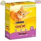 Go-Cat Adult Dry Cat Food Chicken and Duck 825g - Case of 5 c17abf