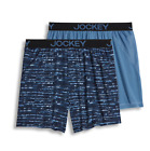 New Jockey Mens 2-pack Knit No Bunch Boxers Choose Size and Color MSRP $34.00