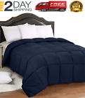 Heavy Comforter Goose Feather Down Warm Full/Que Blanket Best Large Winter Thick image
