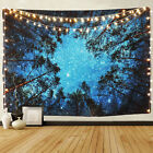 Kyпить Psychedelic Starry Forest Tapestry Art Wall Hanging Home Blanket Decor Tapestry на еВаy.соm