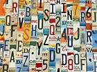 Kyпить Worn & Faded License Plate Letters and Numbers to Build Your Own Signs на еВаy.соm
