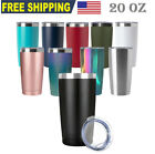 20oz Stainless Steel Tumbler Double Wall Vacuum Insulated Travel Mug/Cup