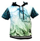 FILTHY DRIPPED AS0214-SSH-06 SNAKE CHARMER SHORT SLEEVE HOODIE size L