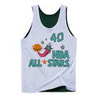 Shawn Kemp Seattle Supersonics All Star Hardwood Classics Throwback Reversible M on eBay