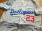 Brand New Coopweatown LA Dodgers #23 Kirk Gibson 1988 WS Throwback Jersey gray on Ebay