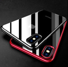 iPhone 6 6s Case - Clear Ultra Thin Shockproof Protective Silicone Bumper Cover