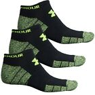 New Men`s Under Armour Elevated Performance No-Show Socks - 3-Pack 1282021
