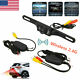 2.4G Car Wireless Reverse Rear View 7 IR Night Vision Parking Cam Backup Camera