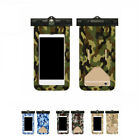 2X(Swimming Mobile Phone Protection Bag Easy Press Camouflage Mobile Waterp7M3)
