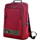 "Olympia USA Apollo 18"" Backpack - Maroon Red Business & Laptop Backpack NEW"