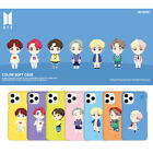 BTS Basic Motion Color Soft Phone Case for Apple iPhone/Samsung Galaxy Note