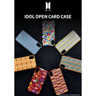 BTS Official Idol Open Card Phone Case for Apple iPhone/Samsung Galaxy Note